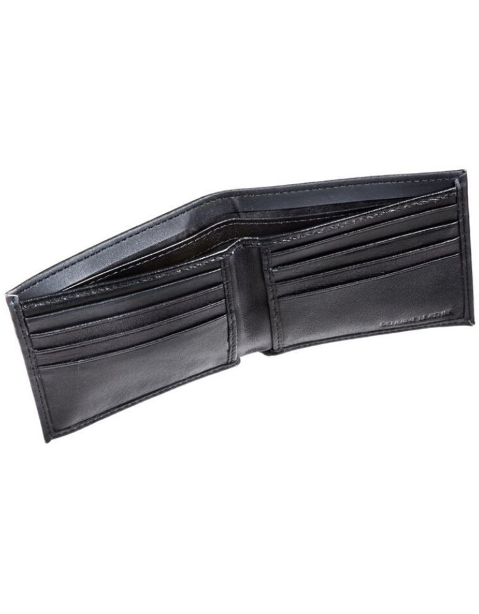 Team Sports Ameica NHL Bi-Fold Leather Embossed Wallet Oilers