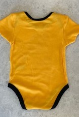 NHL Child Stick With It Diaper Shirt Bruins Yellow