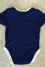 NHL Child Full Team Logo Diaper Shirt Maple Leafs Blue