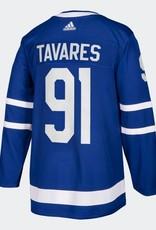 Adidas NHL Adidas Tavares #91 Jersey Maple Leafs Blue