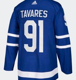 Adidas Adidas Adult Authentic Toronto Maple Leafs Jersey Tavares Blue