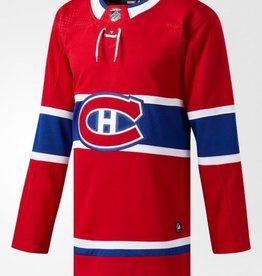 Adidas Adidas Adult  Authentic Montreal Canadiens Jersey Red