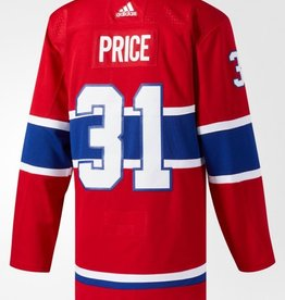Adidas NHL Adidas Price #31 Jersey Canadiens Red