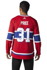 Adidas Adidas Adult Authentic Montreal Canadiens Price Jersey Red