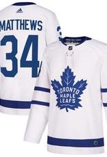 Adidas NHL Adidas Matthews #34 Jersey Maple Leafs White