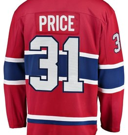 Fanatics Fanatics Men's Montreal Canadiens Red Jersey Price #31