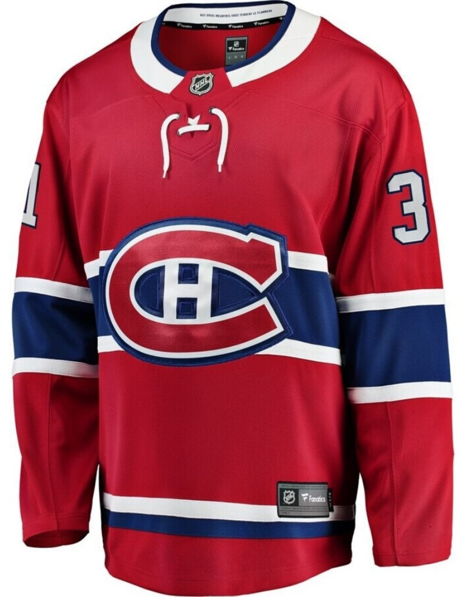 Fanatics Fanatics Adult Breakaway Montreal Canadiens Price Jersey Red