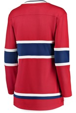 Fanatics Fanatics Women's Breakaway Montreal Canadiens Jersey Red