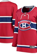 Fanatics NHL Fanatics Women's Jersey Canadiens Red