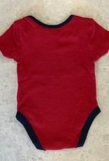 NHL Child Stick With It Diaper Shirt Canadiens Red