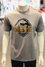 ECHL AK Background Logo T-Shirt Growlers Grey