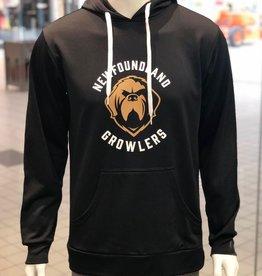 ECHL AK Arc Logo Hoodie Growlers Black