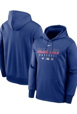 MLB Men's Nike Authentic Collection Hoodie Blue Jays Royal