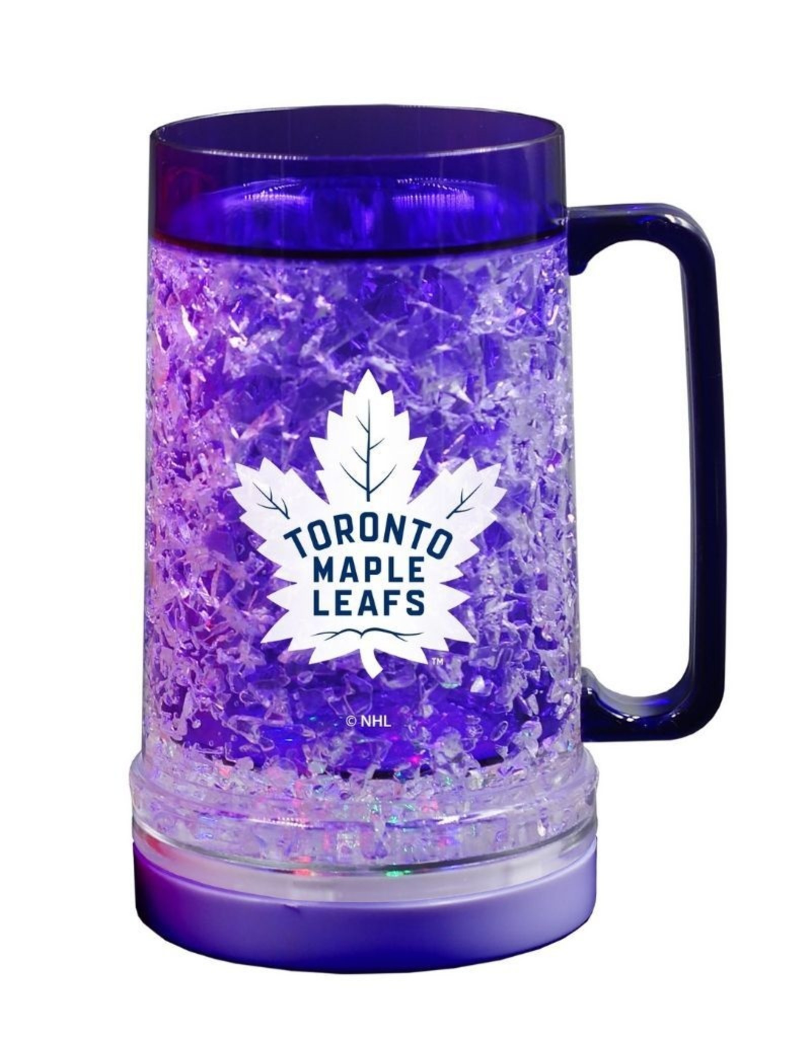 NHL Light Up Freezer Mug Maple Leafs