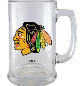NHL 15oz Sports Mug Wordmark Blackhawks