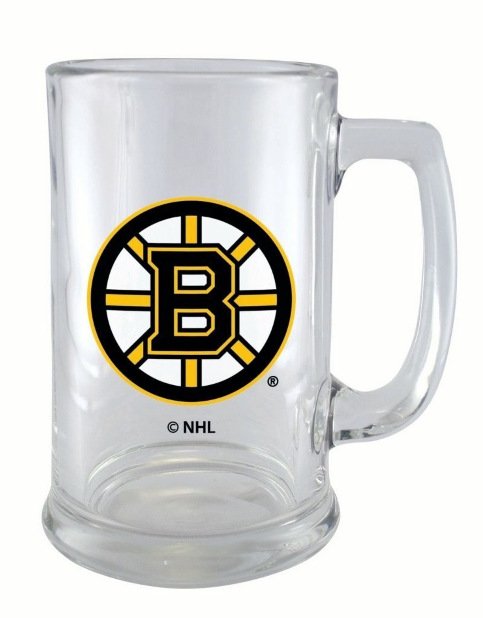 NHL 15oz Sports Mug Wordmark Bruins