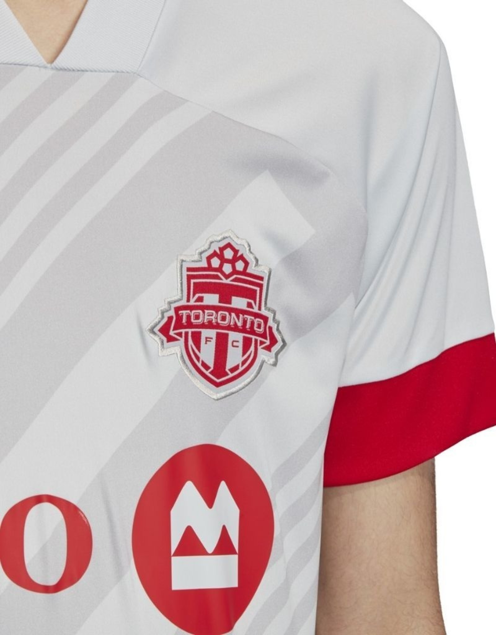 Adidas Adidas '20 Soccer Jersey Toronto FC Grey