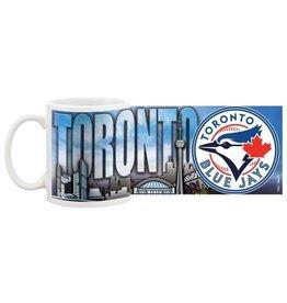 MLB Cityscape Coffee Mug Blue Jays