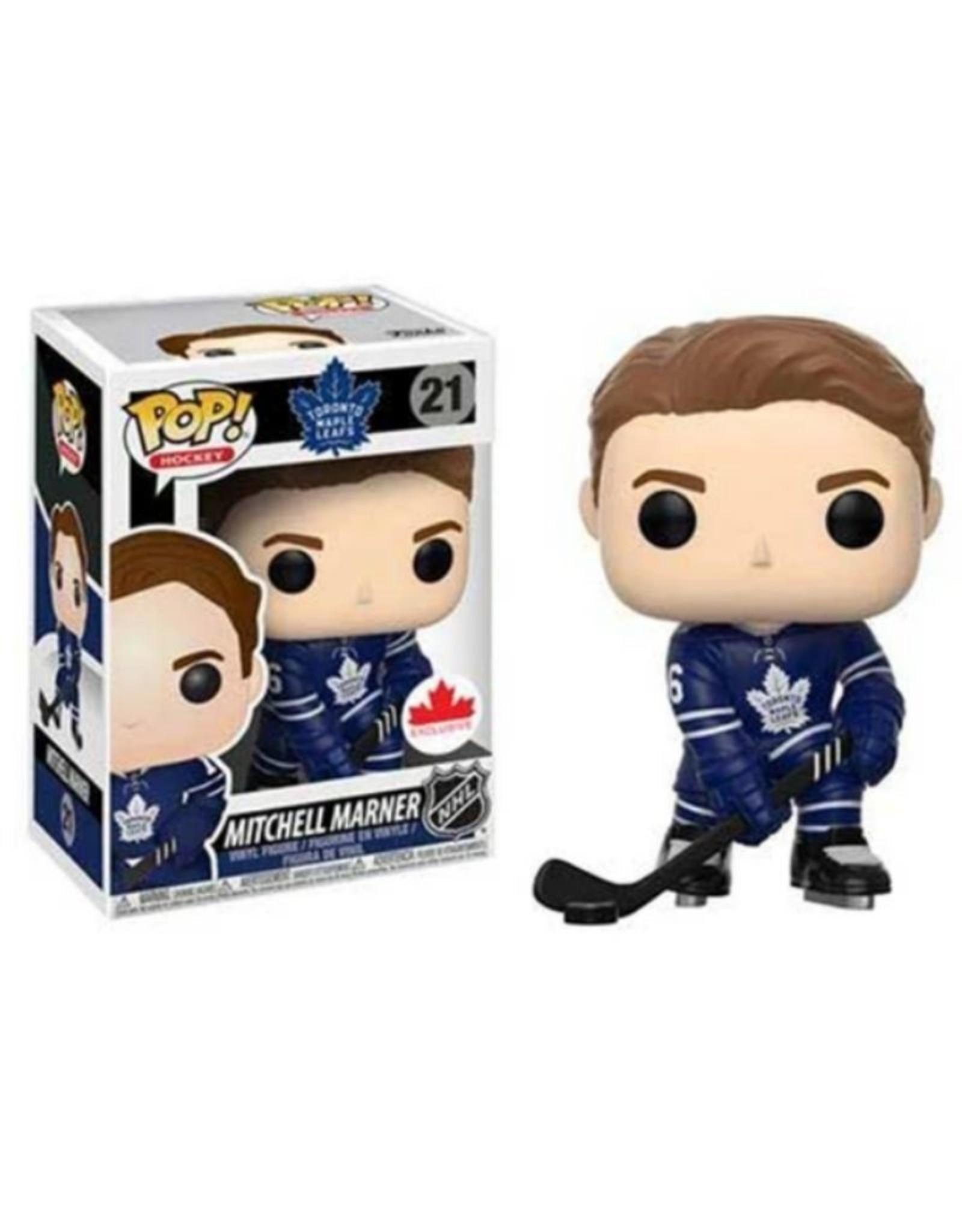 NHL POP! Figure Marner Maple Leafs Blue