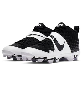 Nike Force Zoom Trout 6 Keystone Men's Baseball Cleat Black/White