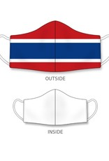 Habs It Hanging Reusable Mask Red/White/Blue One Size