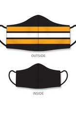 Nothing Bruin Here Reusable Mask Black/Yellow/White One Size