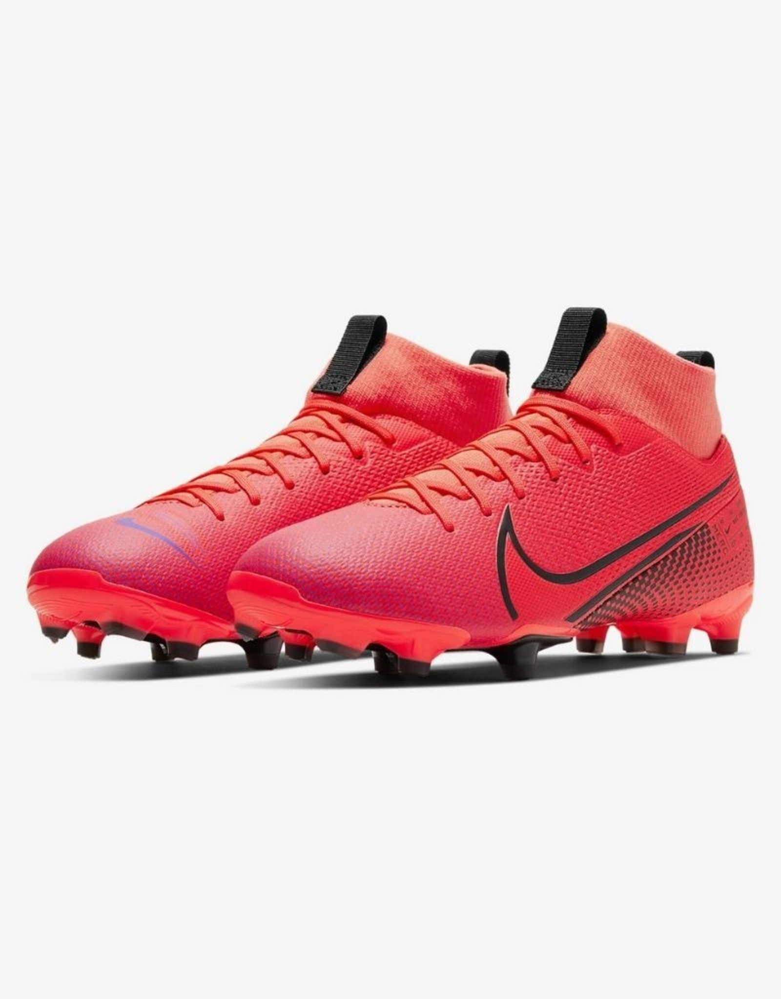 Nike Jr Mercurial Superfly 7 Academy MG Soccer Cleat Laser Crimson