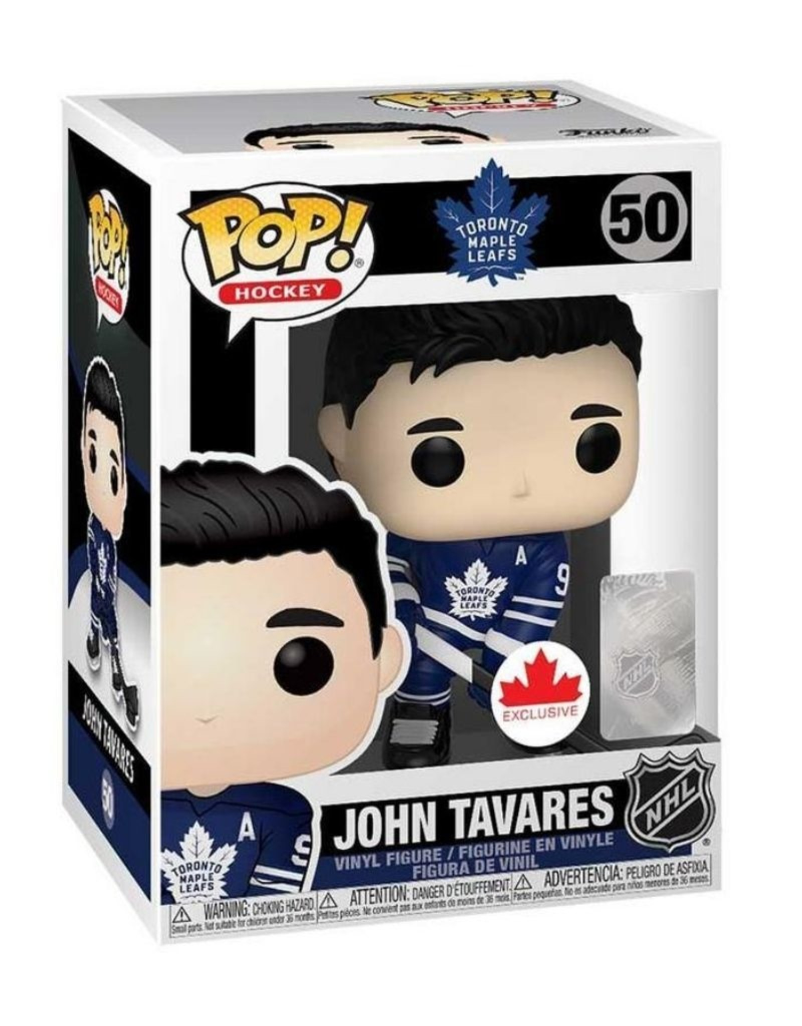 Funko POP! Figure Tavares Maple Leafs Blue
