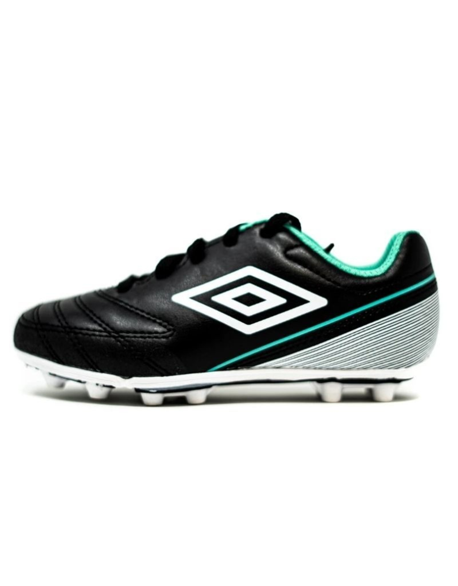 Umbro Jr Classico VII HGR Soccer Cleat Black/Green