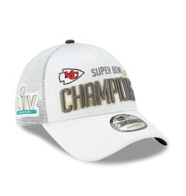 Super Bowl 2020 Adjustable Hat Kansas City Chiefs White