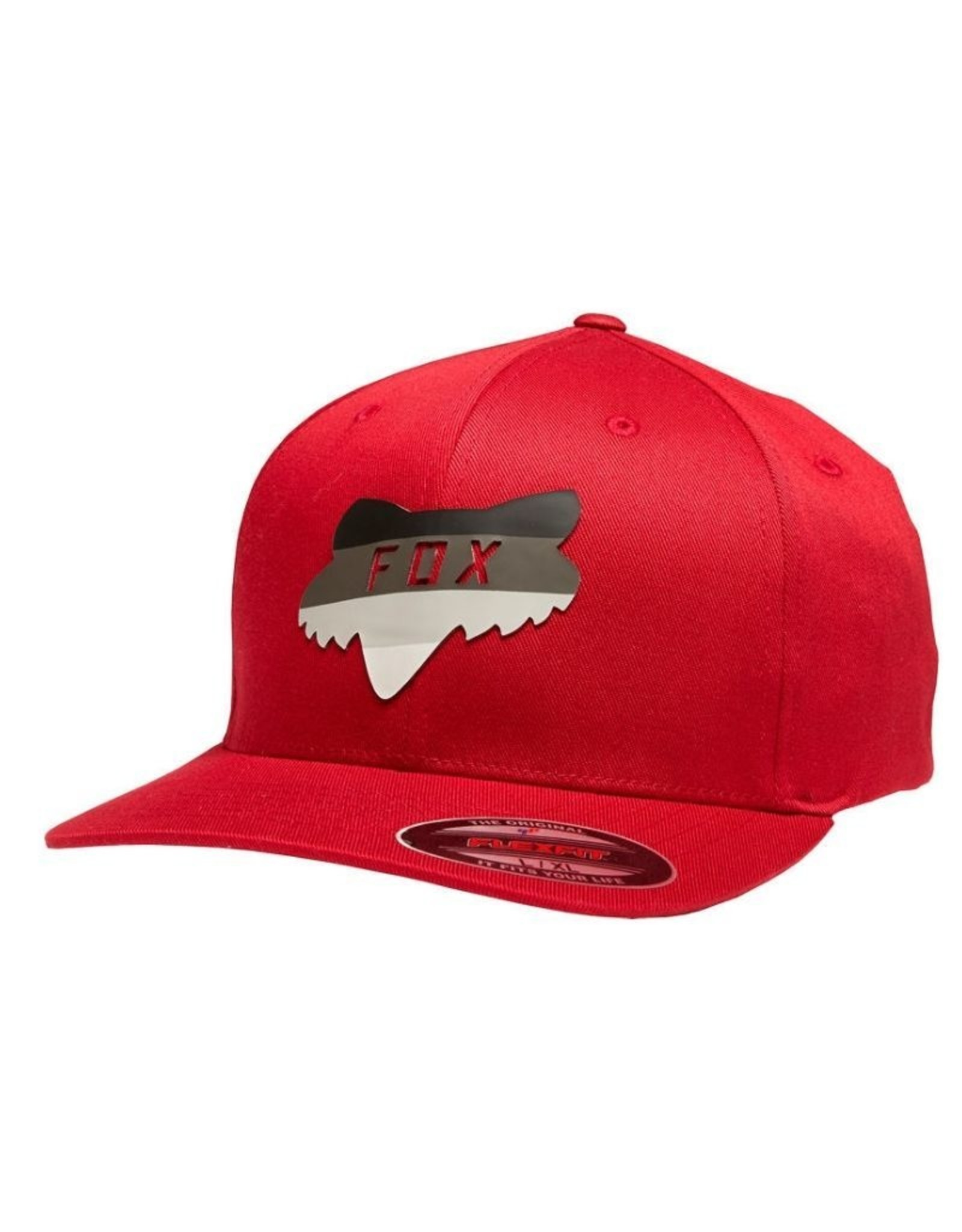 Fox Voucher Men's Flexfit Hat Cardinal