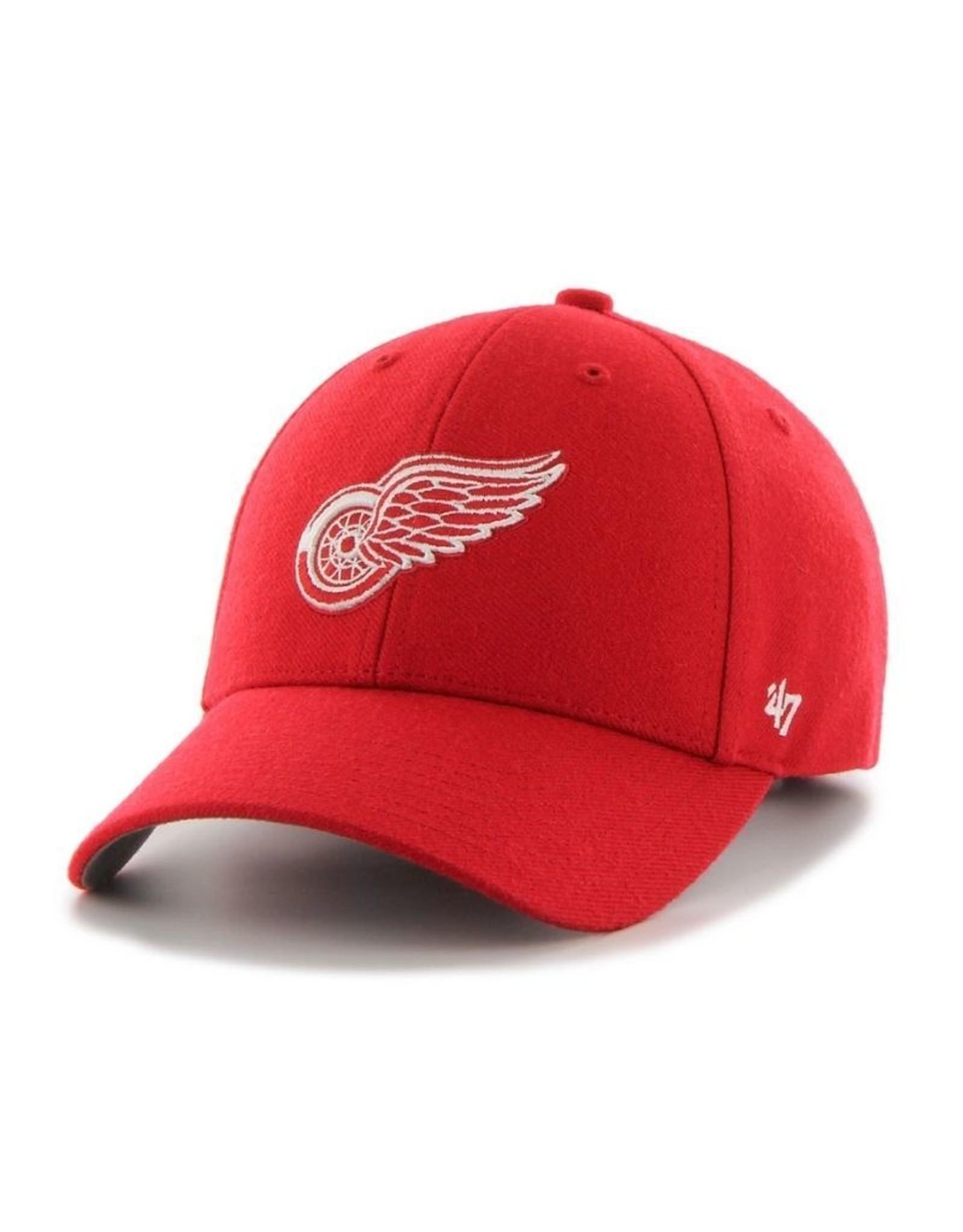 '47 MVP Men's Hat Primary Logo Detroit Red Wings Red Adjustable