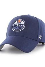 '47 MVP Men's Hat Primary Logo Edmonton Oilers Blue Adjustable