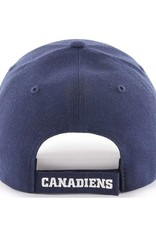 '47 MVP Men's Hat Primary Logo Montreal Candiens Blue Adjustable