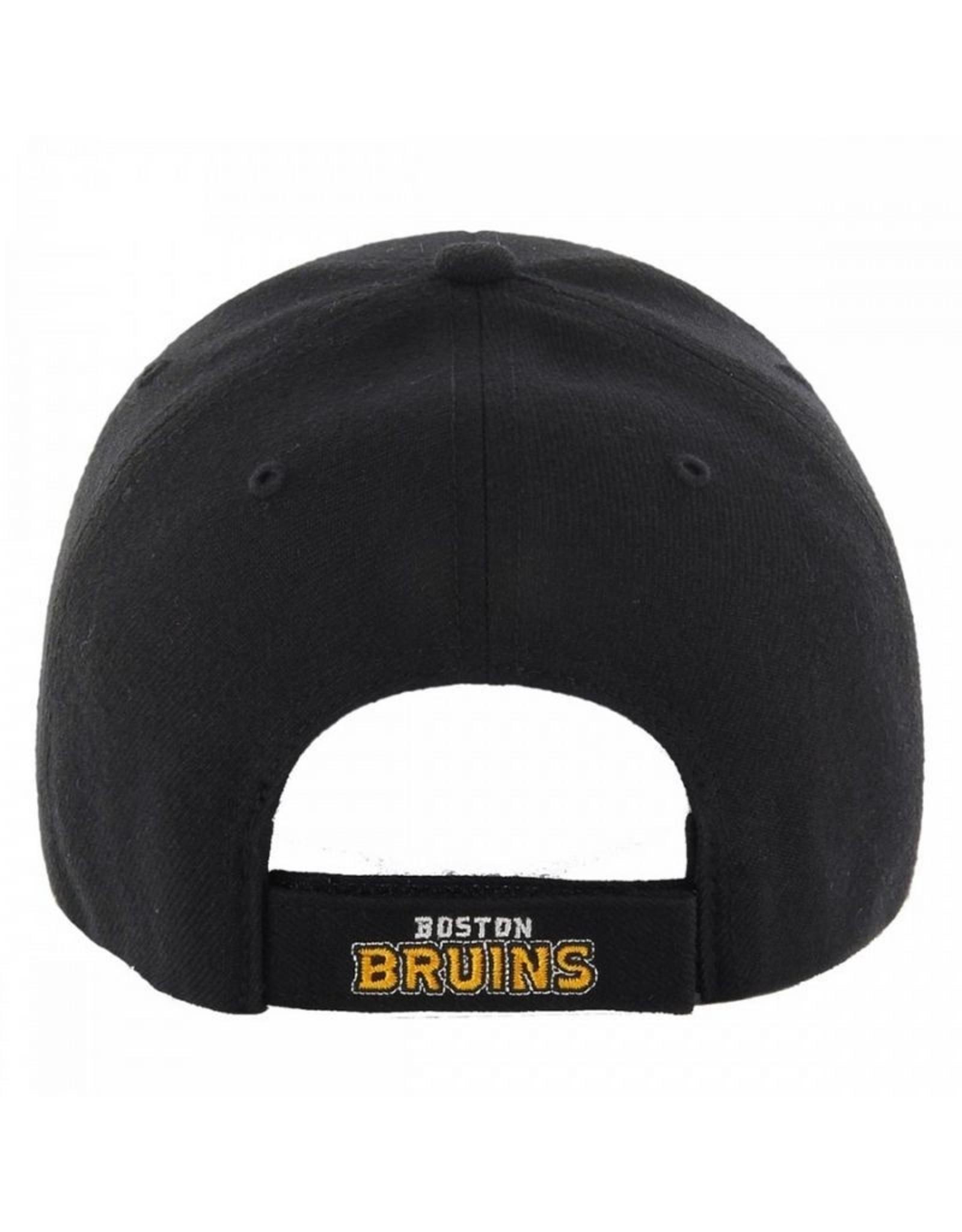 '47 MVP Men's Hat Primary Logo Boston Bruins Black Adjustable