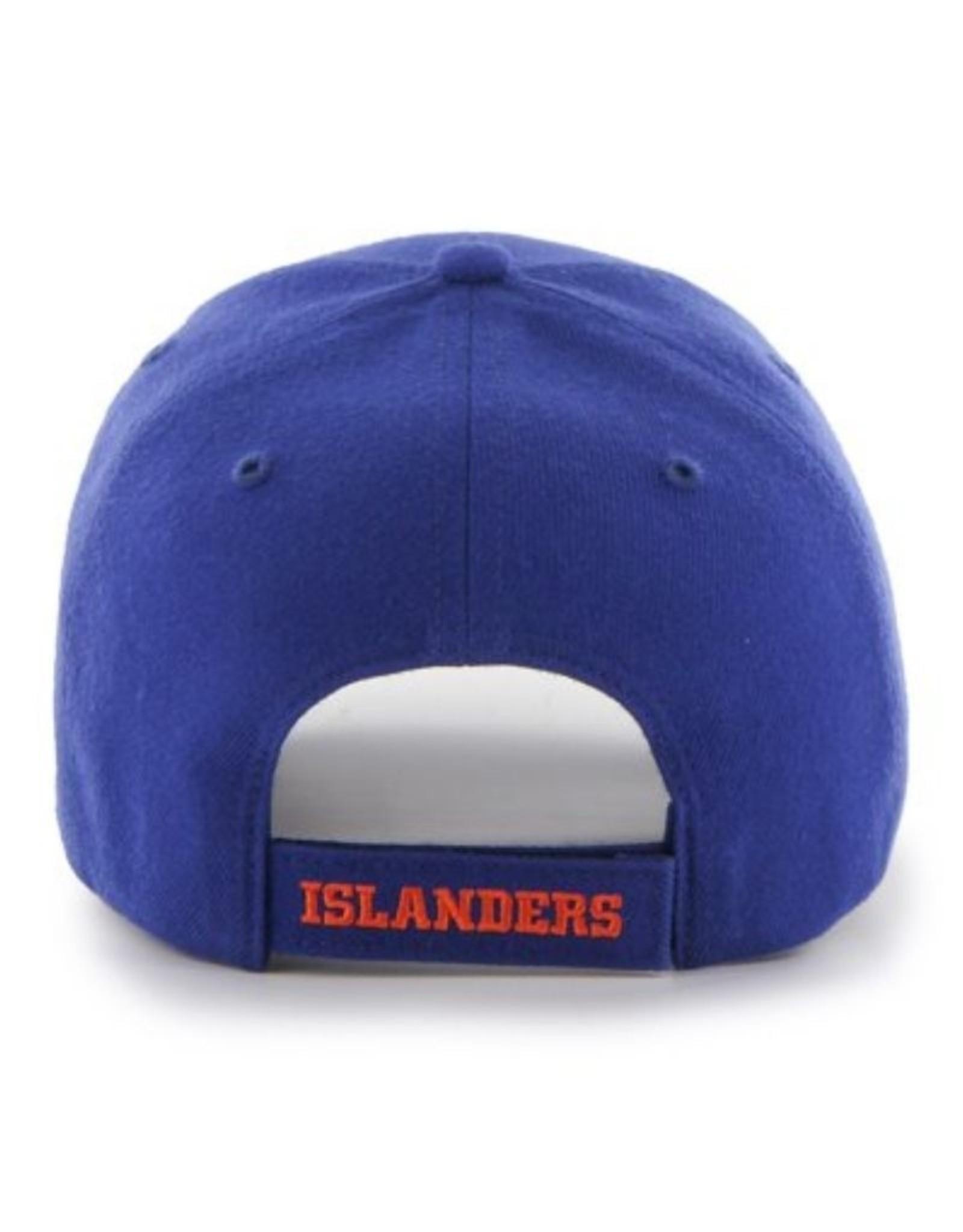 '47 MVP Men's Hat Primary Logo New York Islanders Blue Adjustable