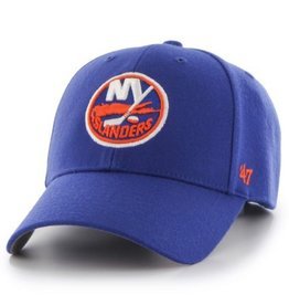 '47 MVP Men's Hat Primary Logo New York Islanders Blue Adjustable
