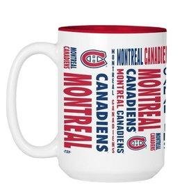 NHL 15oz Espirit Coffee Mug Canadiens