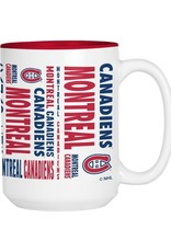 NHL 15oz Espirit Coffee Mug Canadiens