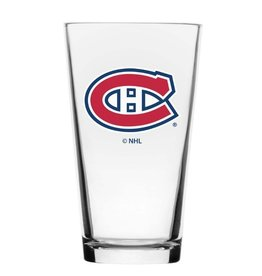 NHL Wordmark Mixing Glass Montreal Canadiens