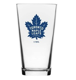 NHL Wordmark Mixing Glass Toronto Maple Leafs