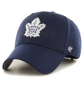 '47 MVP Men's Hat Primary Logo Toronto Maple Leafs Navy Adjustable