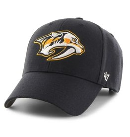 '47 MVP Men's Hat Primary Logo Nashville Predators Navy Adjustable