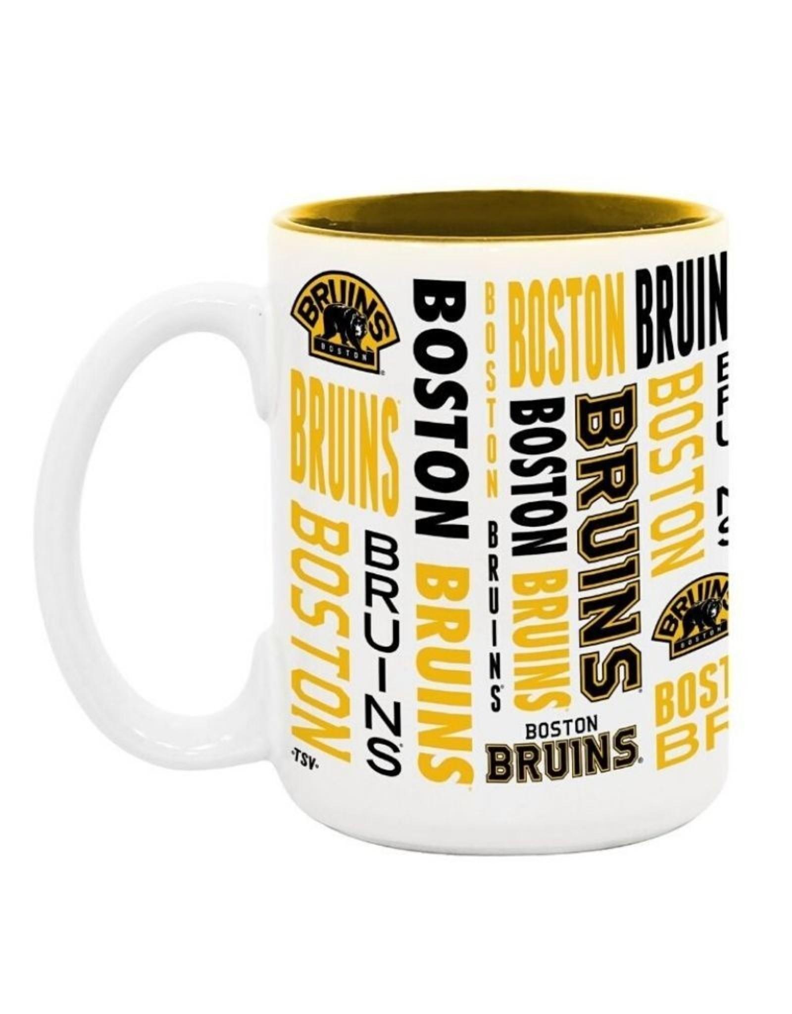 NHL 15oz Espirit Coffee Mug Boston Bruins