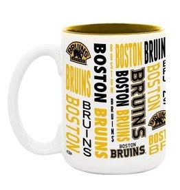 NHL 15oz Espirit Coffee Mug Bruins