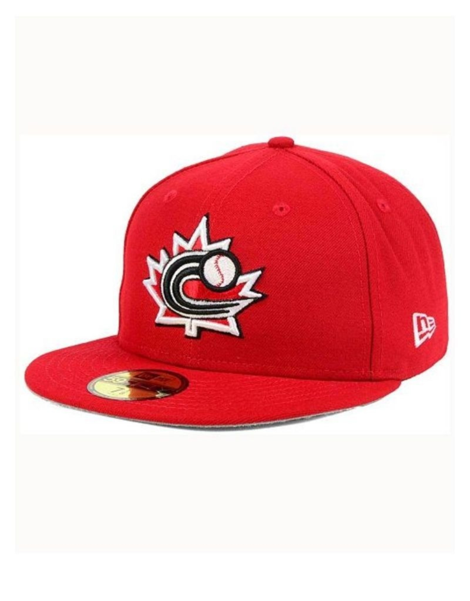 New Era On-Field Authentic 59FIFTY Hat Canada Baseball Red