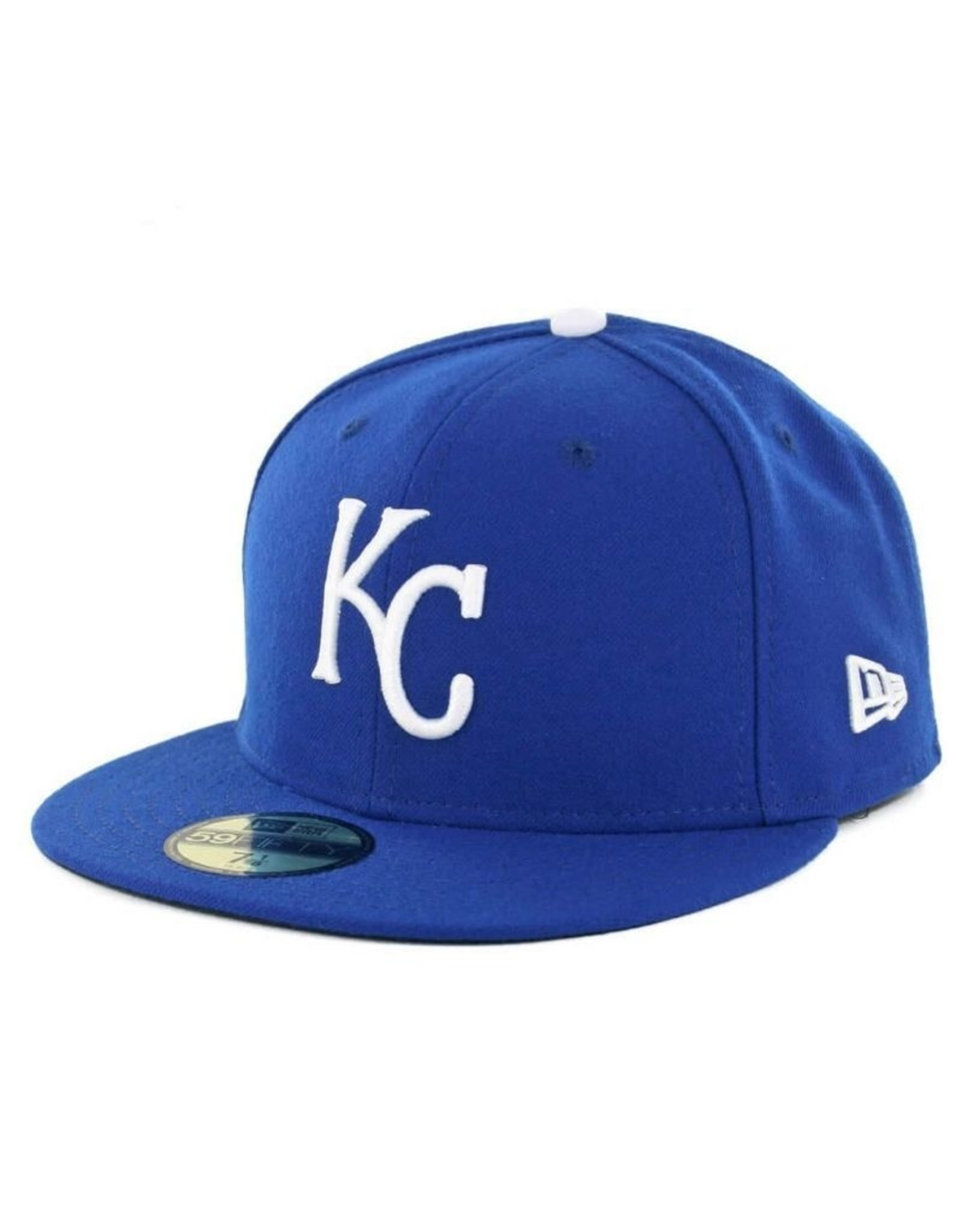 New Era On-Field Authentic 59FIFTY Home Hat Kansas City Royals Royal/White
