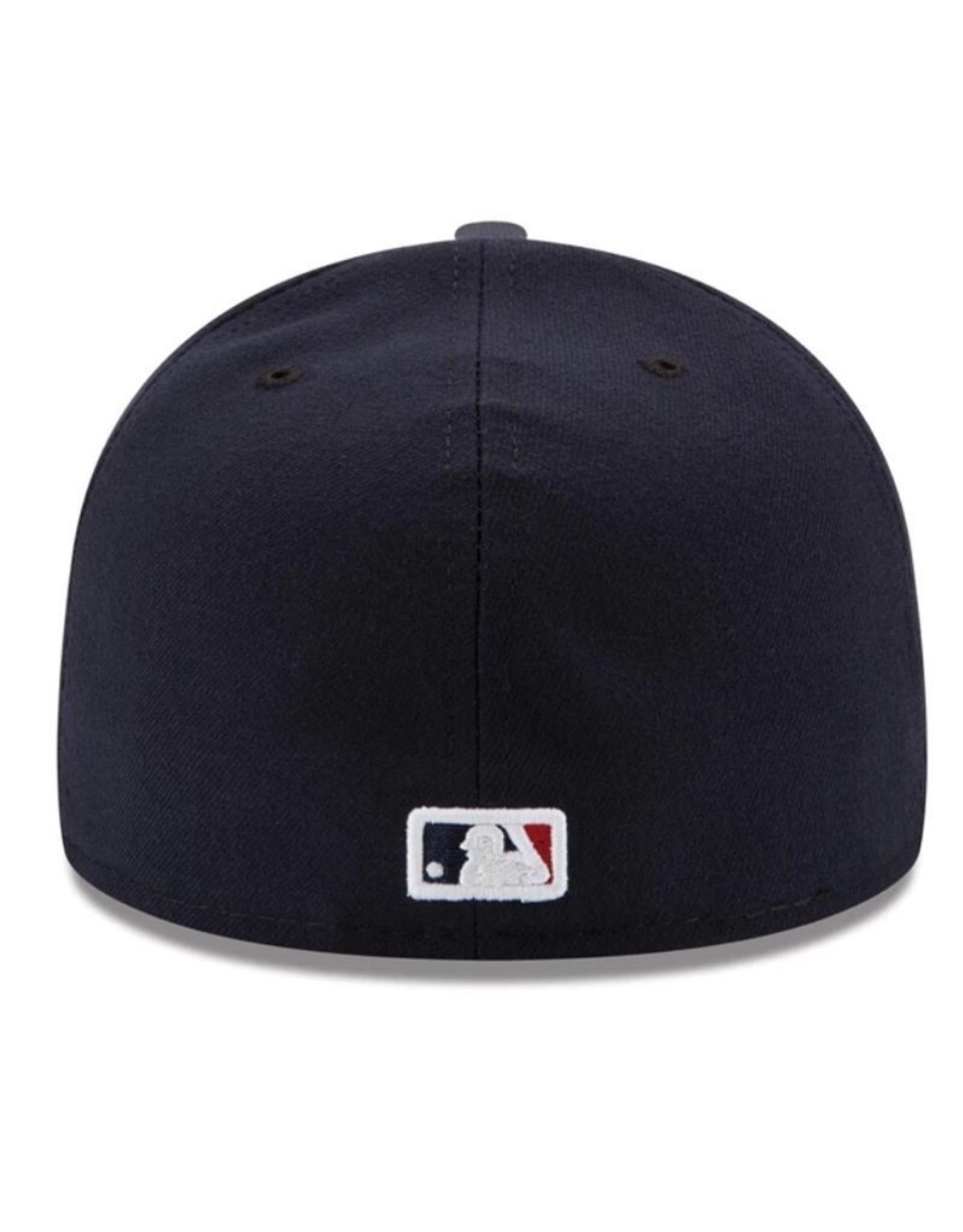 New Era On-Field Authentic 59FIFTY Road Hat Cleveland Indians Navy