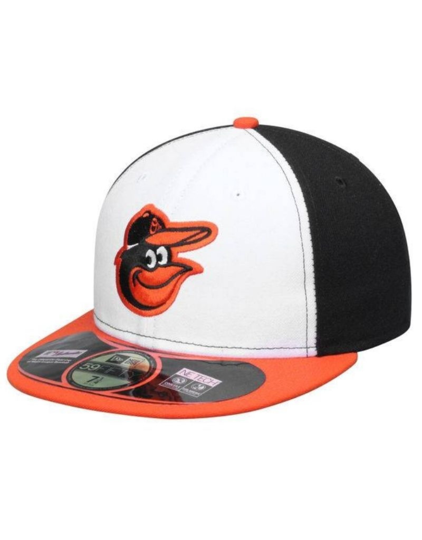 New Era On-Field Home Hat Baltimore Orioles Black