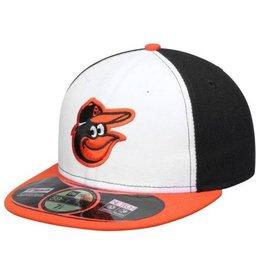 New Era On-Field Home Hat Baltimore Orioles Black